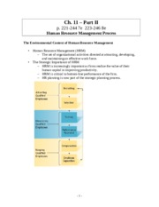 mgmt 363 Ch. 11 Part II - HR Process.doc