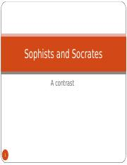 Sophists and Socrates Ethics Powerpoint Presentation.ppt