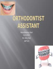 Orthodontist Assistant.pptx