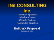 InIT Consulting power point