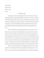 yoga self reflection paper.docx