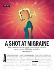 2.2.5 Shot at Migraine Science Magizine Reading.