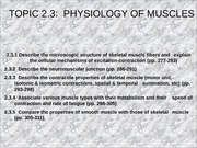 Lecture 1.5 Muscles