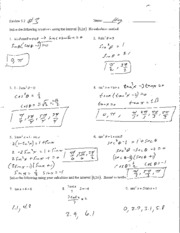 Review 5.2 Answers