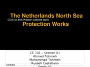 Netherlands North Sea Protection