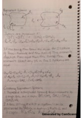 Equivalent Systems Lecture Notes