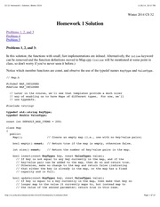 CS 32 Homework 1 Solution, Winter 2014