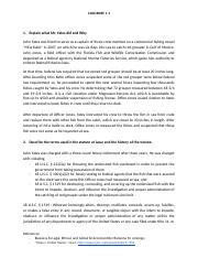 Assignment Case Brief 1.1