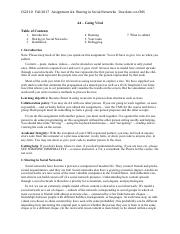 a1 pdf - CS2110 Fall 2017 Assignment A1 PhD Genealogy See