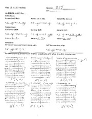 math worksheet : circle geometry with answers  geometry unit 7 ba review circular  : Math Dilation Worksheet