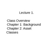 1. Lecture 7.10.12