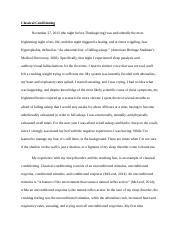 most frightening experience of my life Smart narrative essay topics sometimes it can be difficult to  the most embarrassing experience of my life a frightening experience  as it is the most.