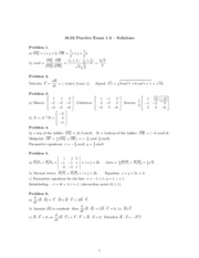 solutions for practice exam 1