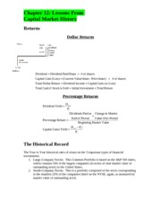 Econ 374 Book Notes - Chapter 12
