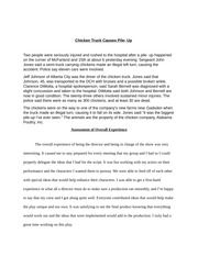 Revised Chicken Truck Story