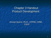 Chapter 3_Product Developmet_Handout_MBA