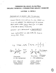 CHEM 281 2011-3 Lecture Notes 11 - WEEK 4