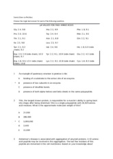 Exam 1 Sample 2011