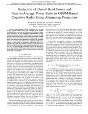 2013_Reduction of out-of-band power and peak-to-average power ratio in OFDM-based cognitive radio us