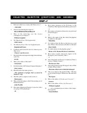 ENGLISH MCQ 2018-19 xlsx - MCQ English Literature POETRY