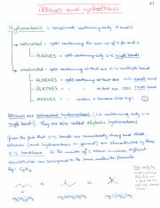 Notes CH 02 - Alkanes and cycloalkanes