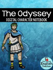 Odyssey Character INB - TpT