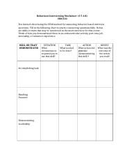 Behavioral Interviewing Worksheet.docx