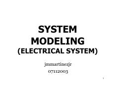 L04a-SystemModeling(Elec)