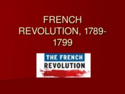 The French Revolution 1789-1799