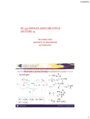 EE 332 Lectures 11-04 2014