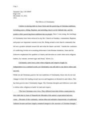 This I believe essay 5