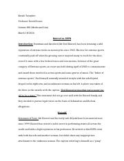 Comms 300 paper- Knievel law suit- FINAL