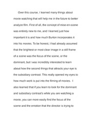 Essay on deep meaning in Tim Burton's Work