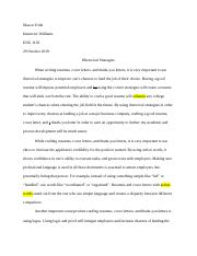 Resume Analysis Essay