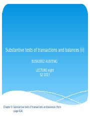 L8 Substantive tests of transactions and balances (II).pptx