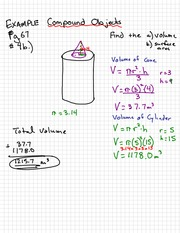 Compound Object Notes