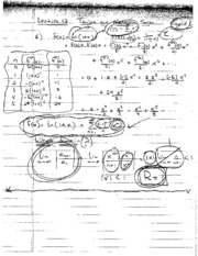 Lecture 12  Section 12.10 Notes (Extra Problems)