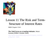 Lesson11+Term+Structure+of+Interest+Rates