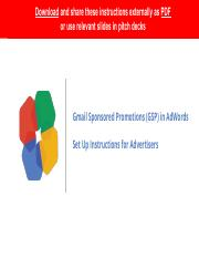 GSPs in AdWords - Set Up Instructions (2)