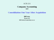 9.2-3 lecture_23_Sept_and_25_Sept_Consolidation_One_Year_After_Acquisition