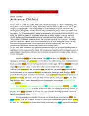 dillards delay essay Immediately download the annie dillard summary, chapter-by-chapter analysis, book notes, essays, quotes, character descriptions, lesson plans, and more - everything you need for studying or teaching annie dillard.