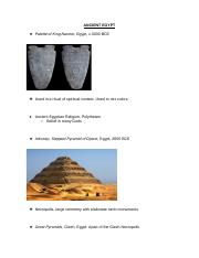 Ancient Egypt Notes.docx