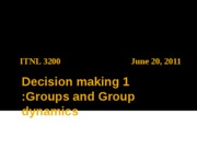 0620 Decision making 1