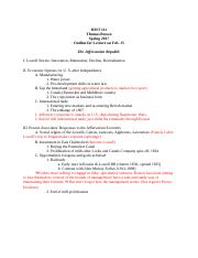 HIS-outline Lowell 2.doc