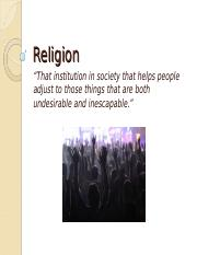 Chapter 13 Religion.ppt