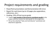 ProjectRequirementsAndGrading