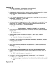 MKT450 Exam 3 Quizzes questions and answers