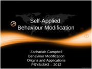 PSYB45H3 - 2012 - Chapter 20 (Blackboard)