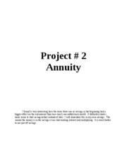 Project 2 title page y paragraph