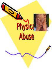 Physical Abuse INTERACTIVE